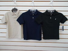 Boys Nautica $26.50 Turquoise or Periwinkle Polo Shirts Size 4-7X