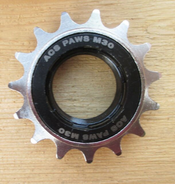 "13T 1//2 x 1//8/"" M30 x1 Thread DNP BMX Freewheel Screw-On Clutch Gear 7316"