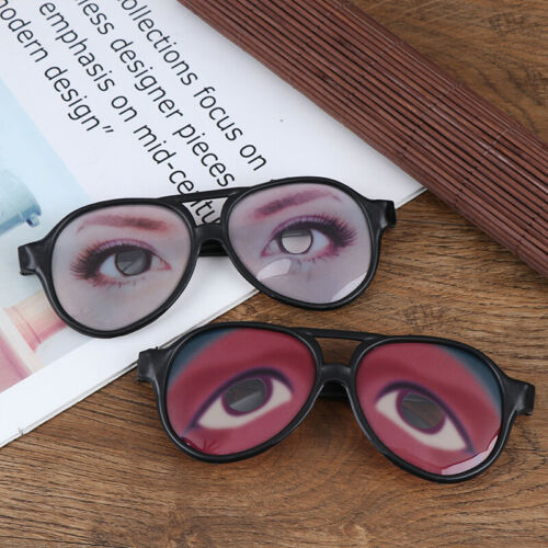Funny Party Awesome Eyes Eyeglasses Mask Costume Disguise Prank Joke Glasses WF