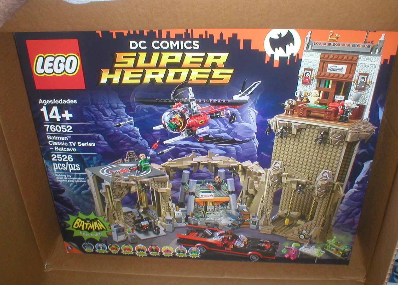 LEGO DC SUPER SUPER SUPER HEROES BATMAN CLASSIC TV-SERIES BATCAVE, UNOPENED, 6dd02c