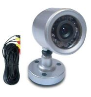 Astak CM-612W Wired Security and Surveillance Camera Nightvision with Microphone - Manufacturer Refurbished