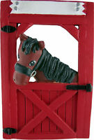 Brown Horse In Stable Christmas Ornament, 4.25 Tall, Ornament Central