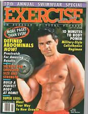 Exercise for men only Magazine bodybuilding muscle mag/ Swimwear Issue 6-95