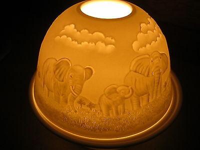 MAGIC LIGHT TEELICHT DOME LIGHTS STARLIGHT WINDLICHT EULE 1039005