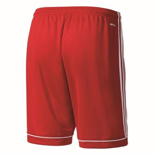Adidas Football Enfants Squadra 17 Pantalon Court De Football Short Rouge Blanc