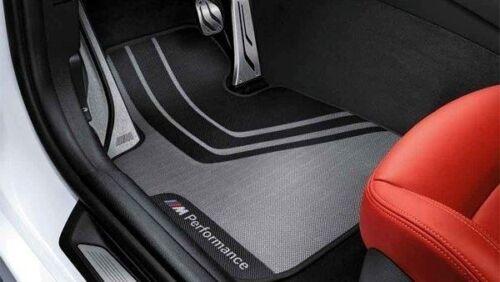 ORIGINALE BMW 1er//2er M Performance Tappetini f20 f21 f22 f23 ANTERIORE 51472407299
