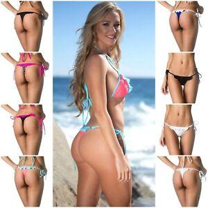 ef787969d05 Image is loading Coqueta-New-Ruffle-Thong-Bottom-Brazilian-Women-039-