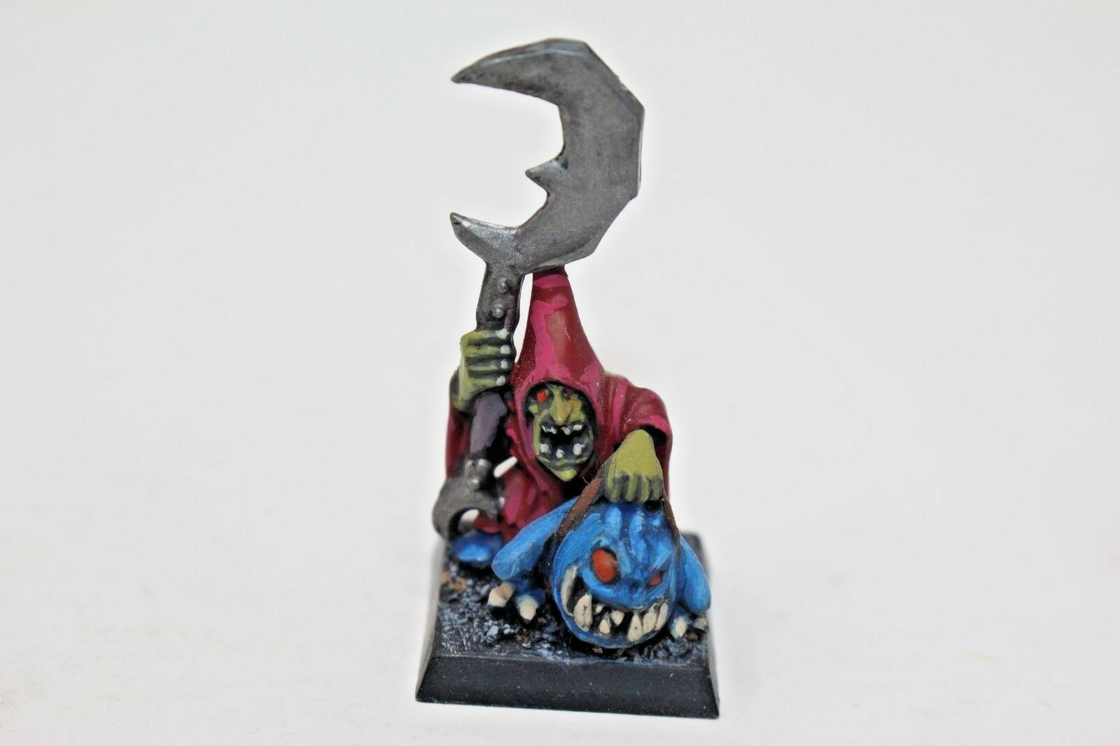Warhammer Orcs and Goblins Night Goblins Warboss Well Painted - JYS63