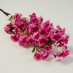 Flowers, Petals & Garlands 50pcs Artificial Cherry Blossom Flower Heads 40mm Wedding Party Favor SFHS6 Home, Furniture & DIY