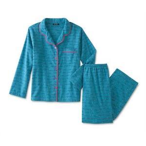 Image is loading Joe-Boxer-Women-039-s-Flannel-Pajama-Shirt- ee2892779