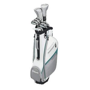 Damen-Wilson-ProStaff-HDX-Golf-Komplettset-Golfset-mit-Chipper-und-Bag