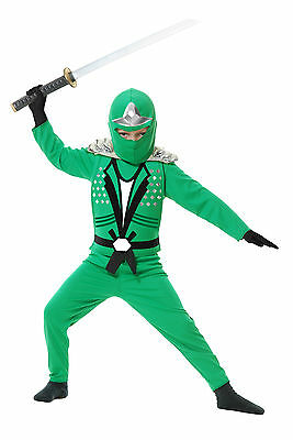 Child Assassin Ninja Avengers Il Red Blue Black White Green Costume with Armor