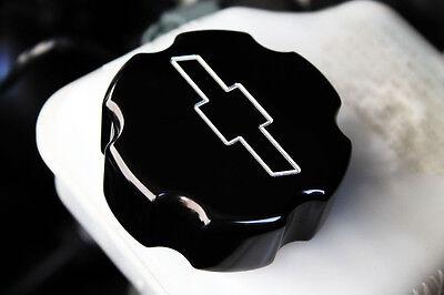 2010-2014 Chevrolet Camaro Master Cylinder Cover Bowtie Logo Satin