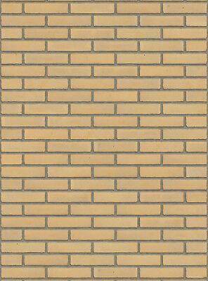 Verblender Wf-format Bh410 Gelb Nuanciert Vormauersteine Klinker Hell Und Durchscheinend Im Aussehen Baustoffe & Holz Fassade