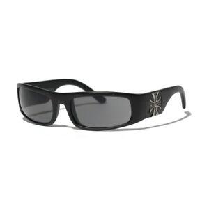 West Coast Choppers Sunglasses Smoke Lenses Black