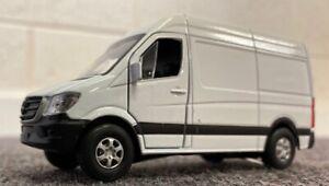 Mercedes Benz Sprinter Van Diecast Model Free Post U K Sale White Ebay