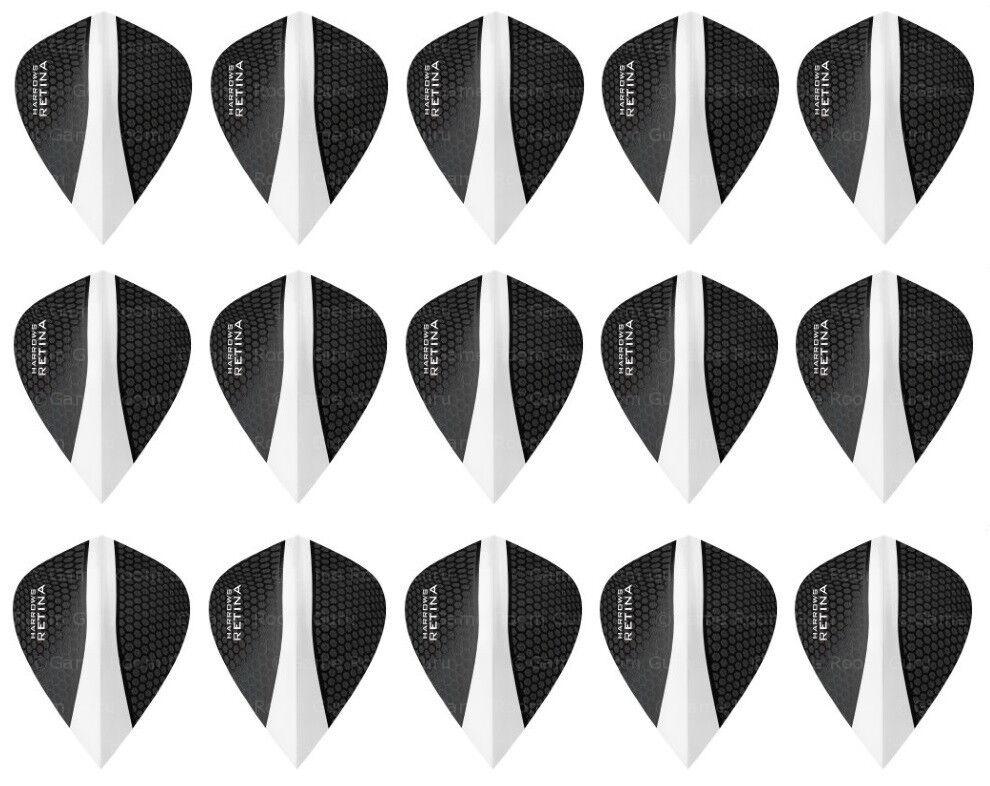 Harrows Retina Dart Flights 100 Micron Kite Shape Jade Pack of 3 Flights