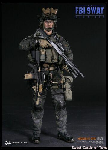 1//6 DamToys US US FBI SWAT Team Agent San Diego Midnight OPS 78044 A// B  Figure
