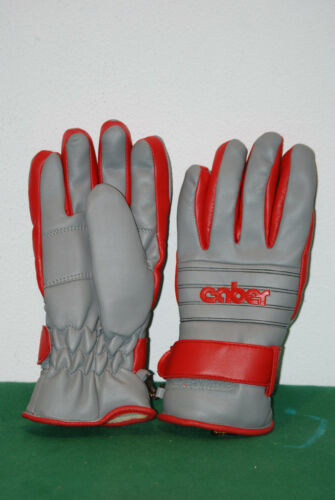 Vintage Caber Snow Collection Gore Tex Insulated Ski Gloves guanti Winter Snowboard