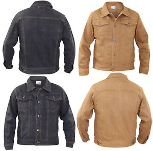 Mens-Chest-Pocket-Cotton-Summer-Buttoned-Casual-Denim-Jacket