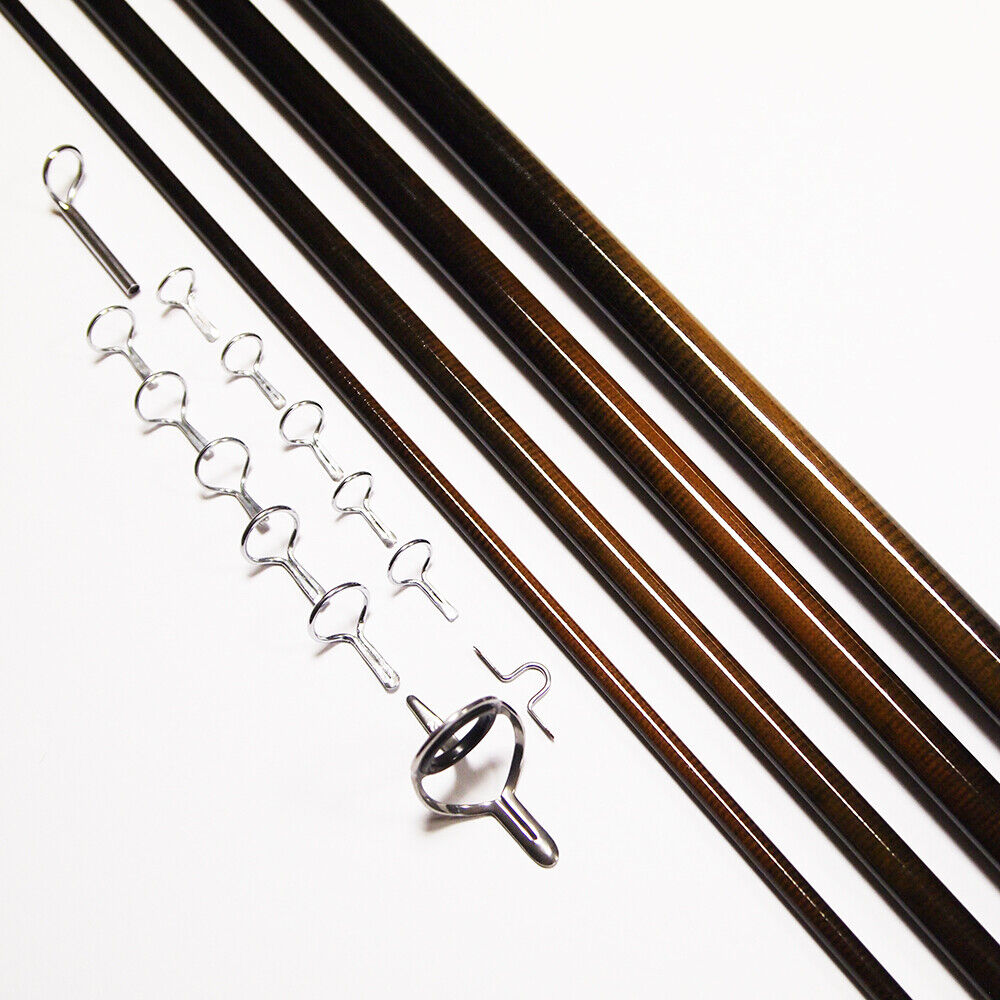 NEXTackle Fly Rod Blank SL Nymph 11ft 3wt 4pc + PacBay Single Foot Guide Kit