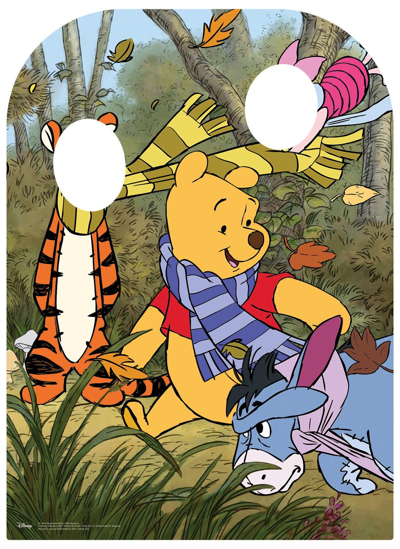Winnie The Pooh & Friends Friends Friends bambino taglia Stand-in cartone Ritaglio Stand-Up cb4311