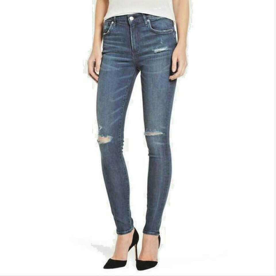 AgoldE SOPHIE  HIGH  RISE SKINNY DESTROYED JEANS  IN DARE WASH 24 NWT