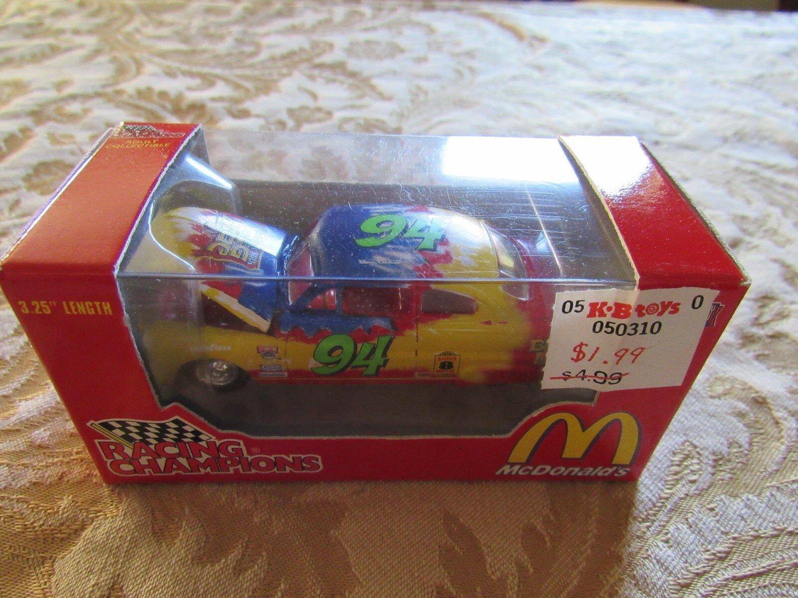 RACING CHAMPIONS NASCAR MCDONALD'S BIG MAC DIECAST CAR