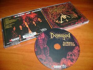 DEMIGOD-Slumber-Of-Sullen-Eyes-Unholy-Domain-XM035CD-DEMILICH-DEPRAVITY