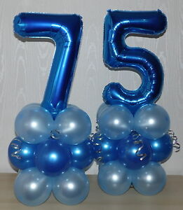 Image Is Loading 75th BIRTHDAY AGE 75 MALE PARTY FOIL BALLOON