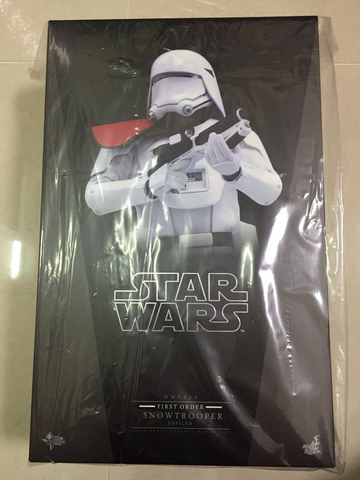 Hot Toys MMS 322 Star Wars Force despierta primera orden Snowtrooper oficial nuevo