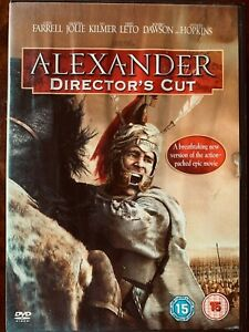 Alexander-DVD-2004-Oliver-Stone-the-Great-Historical-Epic-Director-039-s-Cut-Version