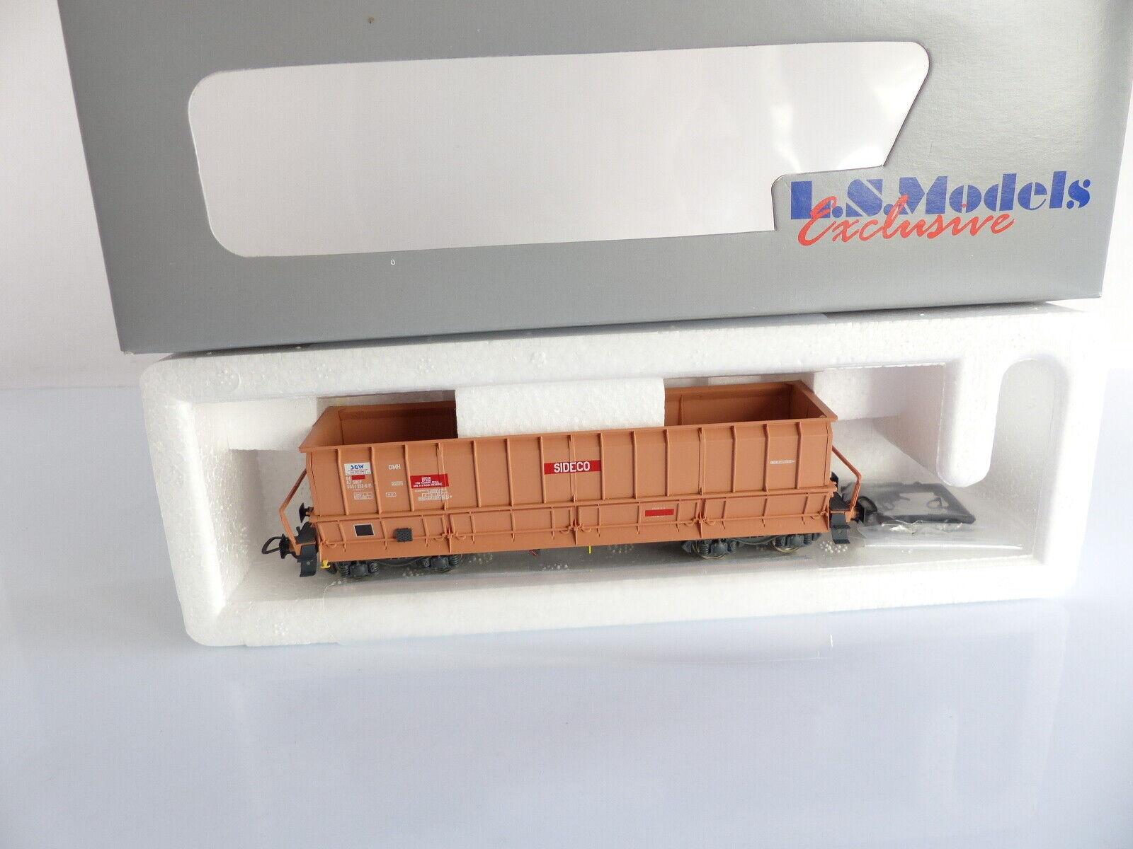 LS MODELS 30 045-2 WAGON TREMIE DMH SIDECO   SNCF
