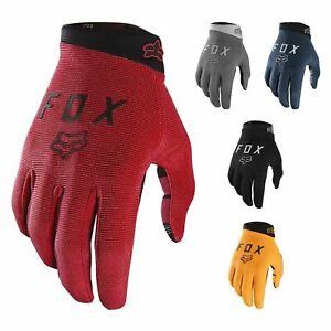 Fox-Racing-Men-039-s-Ranger-Full-Finger-Glove-BMX-Touch-Screen-Compatible-New