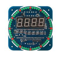 DIY DS1302 Rotating LED Electronic Digital Clock Kit 51 SCM Learning Board 5V kN