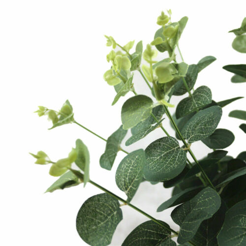 Fake Artificial Grass Foliage Silk Flower FLoral Green Plant Home Office Decor