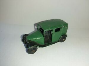 Dinky-36g-Taxi-Green-and-green-roof-rare