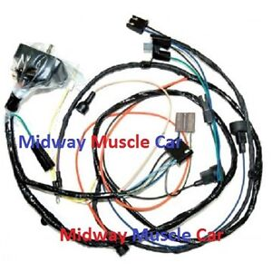 engine wiring harness v chevy impala caprice biscayne bel air image is loading engine wiring harness v8 70 chevy impala caprice