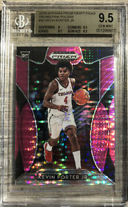 2019-20-Panini-Kevin-Porter-Jr-Pink-Pulsar-Prizms-Rookie-Card-RC-Bgs-9-5-Cavs