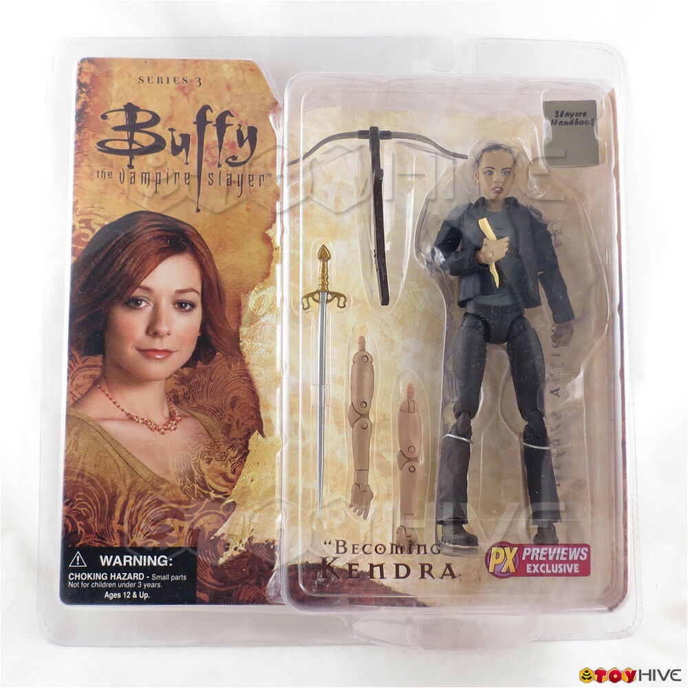 Buffy the Vampire Slayer Becoming Kendra Series 3 new PX Previews exclusive BTVS
