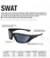 Bolle-Tactical-SWAT-Safety-Sunglasses-You-Pick-Lens-Color-Ballistic-Rated-Z87 miniature 4