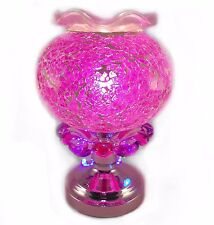 Helena™  Turkish Mosaic Glass Aromatherapy Lamp Accented with Chasing Lights