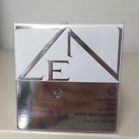 Shiseido Zen Men's White Heat Edition 1.7 Oz / 50 Ml Eau De Toilette Spray