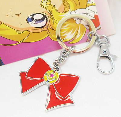 2x New Sailor Moon Weapon Transformation Brooch Pendant Metal Necklace KeyChain