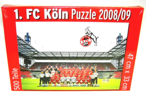 1 FC Köln Mannschaft Stadion Bundesliga Puzzle Spiel 500 Teilig Fußball Neu OVP