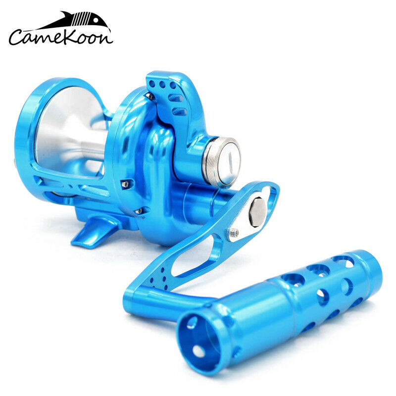 CAMEKOON Lever Drag Conventional Reels For Boat Saltwater Surf Casting Fishing