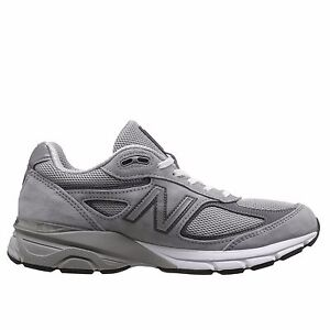 Image is loading Mens-New-Balance-M990v4-Running-Shoe-Grey-Castlerock-