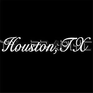 HOUSTON STICKER HOUSTON TX TEXAS VINYL DECAL CITY NAME WINDOW - Vinyl decals houston tx