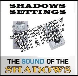 DernièRe Collection De Zoom Multistomp Ms-50g Art D'echo Sound Of Hank Marvin Réglages Uniquement Son 60 S.-afficher Le Titre D'origine