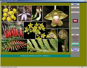 Australian-Tropical-Plants-DVD-ROM-New-faster-install-program